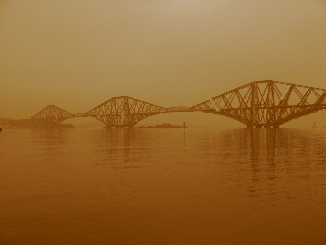 Forth Rail Bridge - Sepia