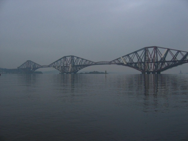 Forth Rail Bridge - Dark