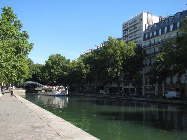 Paris - Saint-Martin-Kanal