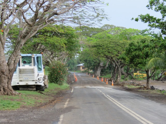 Taveuni: Gravel Roads