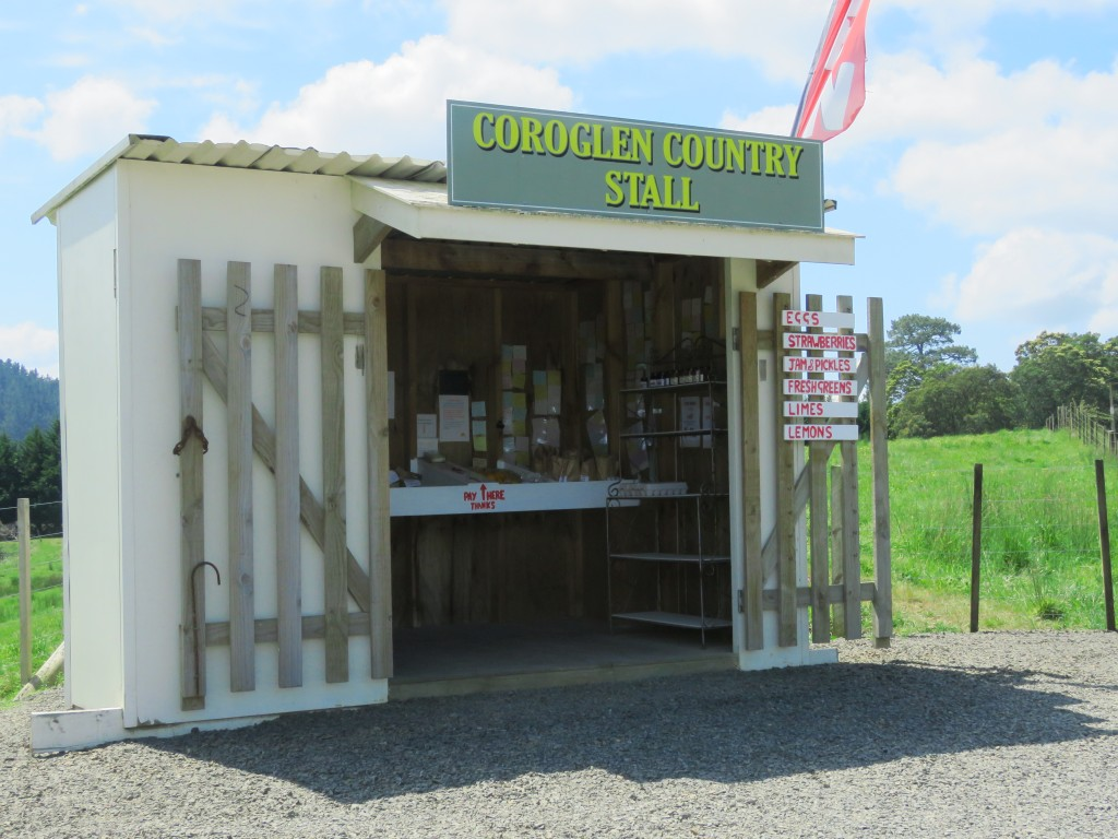 NZ: Coroglen Country Stall