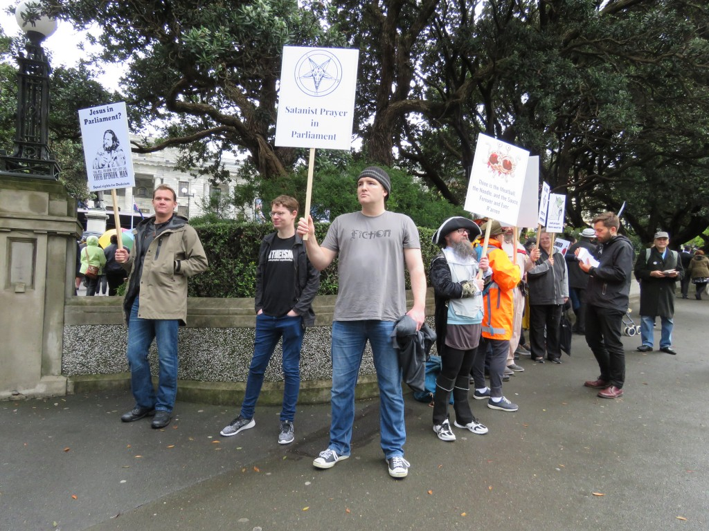NZ: Wellington Demonstration 2