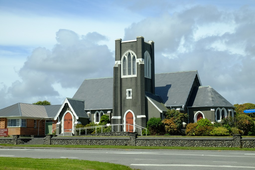 NZ: Hokitika - St Andrew's Untied Church
