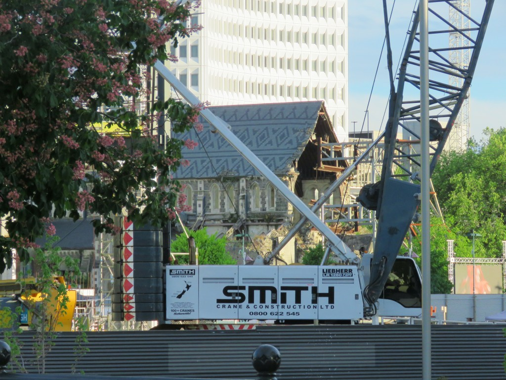 NZ: Christchurch Cathedral