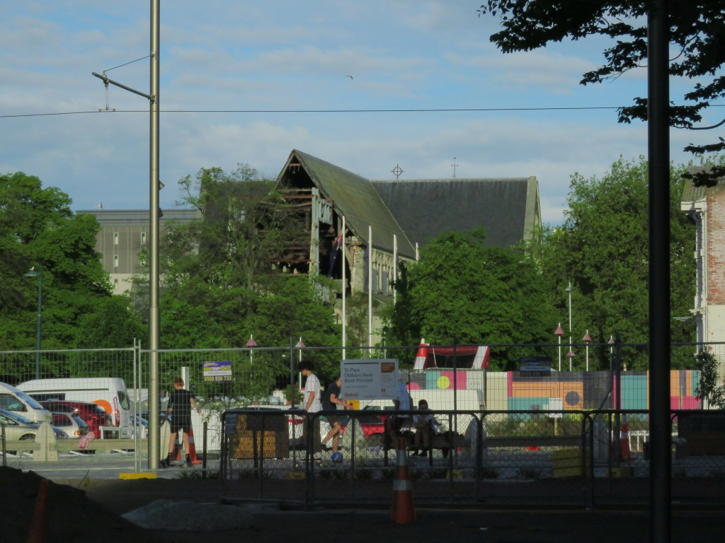 NZ: Christchurch Cathedral 2