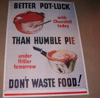 Better potluck than humple pie - Bild 1